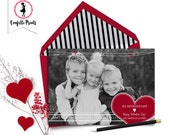 Valentine Photo Card - ALL YOU Need Is LOVE Printable