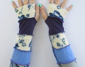 Gift for Her - Texting Gloves - Boho Gloves - Driving Gloves - Hippie Gloves - Gift's Under 30 - Valentine's Day Gift Ideas - Arm Warmers