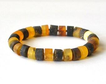 Modern Baltic Amber Bracelet