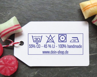 Stamp washable, textile stamps, hand made