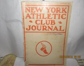December 1906 New York Athletic Club  Renault Cars Advertising Booklet
