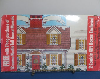 Vintage Nestle Toll House Gift Boxes