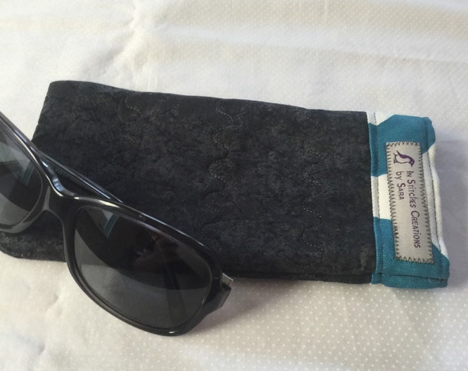Pinch Open Sunglass Case, Padded Glasses Case, Easy Open/Close Sunglasses Case