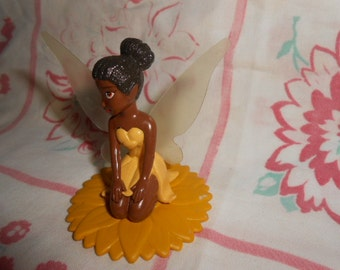 Fairy Cake Topper African American-New In The Bag