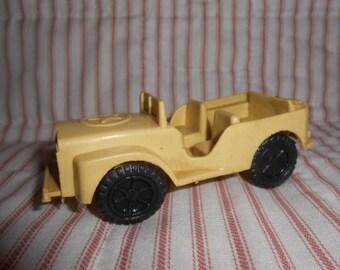 Vintage Plastic Jeep