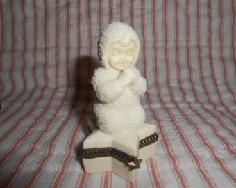"Dept 56 Snowbabies ""Sweet Dreams"" Trinket Box #68868"