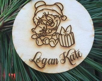 Baby's First Christmas Ornament, Christmas Ornament,Ornament, Personalized Ornament