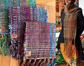 silky comfy Autumn scarf