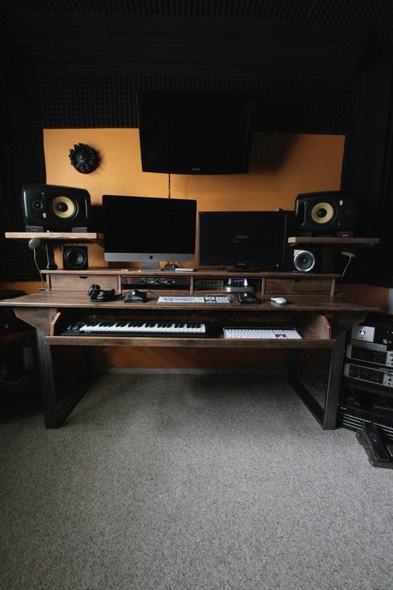 Audio Studio Desk : reclaimed composer studio desk for audio video film ~ Vivirlamusica.com Haus und Dekorationen
