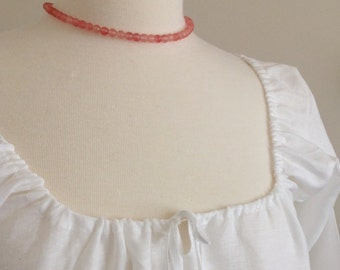 Hand Sewn 18th Century Linen Shift - Made to Order - 18th Century Reproduction Quality