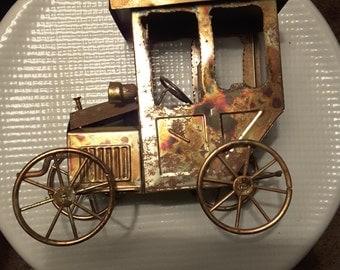 Vintage Copper jalopy music box