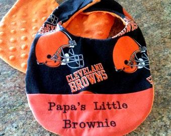 Cleveland Brown's Baby bib