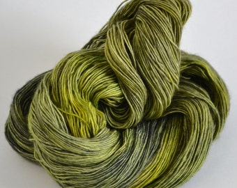 Hand dyed yarn pick your base - Wicked - sw merino cashmere nylon fingering dk worsted