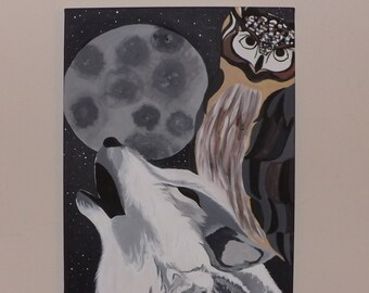 Wildlife and the Moon