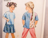 Simplicity Girl's Dress Collar Pattern 8234-Size2-6x