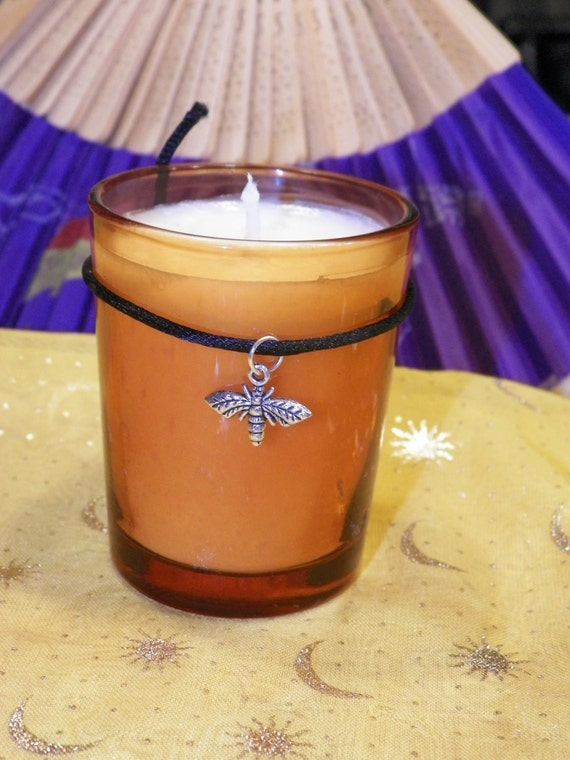 Gainful Employment Soy Hand Made Candle Reiki Healing