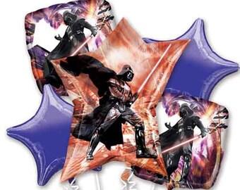 Star Wars Balloons, Star Wars Birthday Party Decorations , Star Wars Birthday Party, Darth Vader Birthday Party, Boys Birthday, Balloons