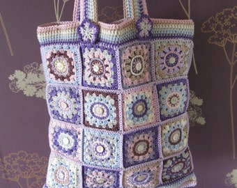 Crochet bag photo tutorial. PDF pattern. Instant download. Lined crochet cotton purse. Permission to sell items made from this pattern.