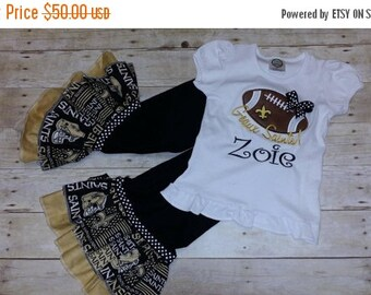 ON SALE New Orleans Saints - Geaux Saints!  Baby, Toddler and Girls outfit