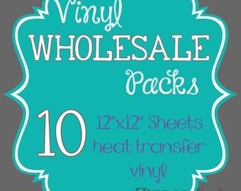"""Wholesale printed vinyl, siser vinyl heat transfer vinyl wholesale 12""""x12"""" size patterned vinyl pack of 10 sheets"""