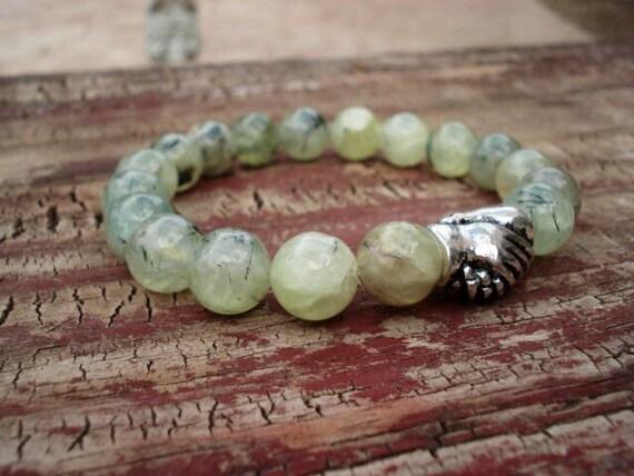 Friendship Bracelet, Green Bracelet, Reiki Jewelry, Healing Bracelet, Bead Bracelet, Charm Bracelet, Bracelets For Women, Bracelets For Men