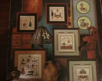 Charted Nostalgic Designs leisure Arts Leaflet 183