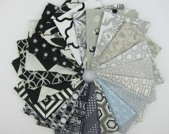 It's All in Black and White Fat Quarter Bundle - 20 Fat Quarters - 5 Yards Total