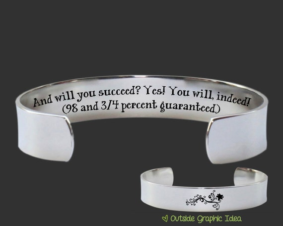 Graduation | Graduation Gift | College Graduation | Class of 2017 | High School Grad | Promotion Gift | And will you succeed | Korena Loves