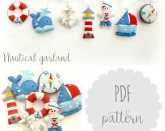 PDF instructions nautical garland kit