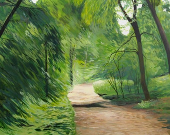 Woodland Path - 19.75 x 15.75