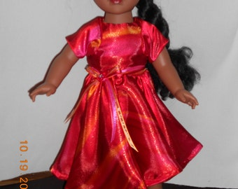 18 inch doll Dress with bolero