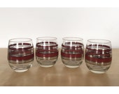 Set of 4 Georges Briard Roly Poly Glasses