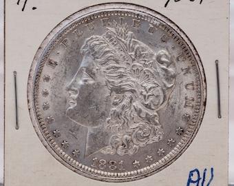 Morgan Silver Dollar 1881