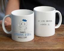 Hangover Cure Personalised Mug/ Hangover Gift/ Funny Gift Mug/ Magic Mug