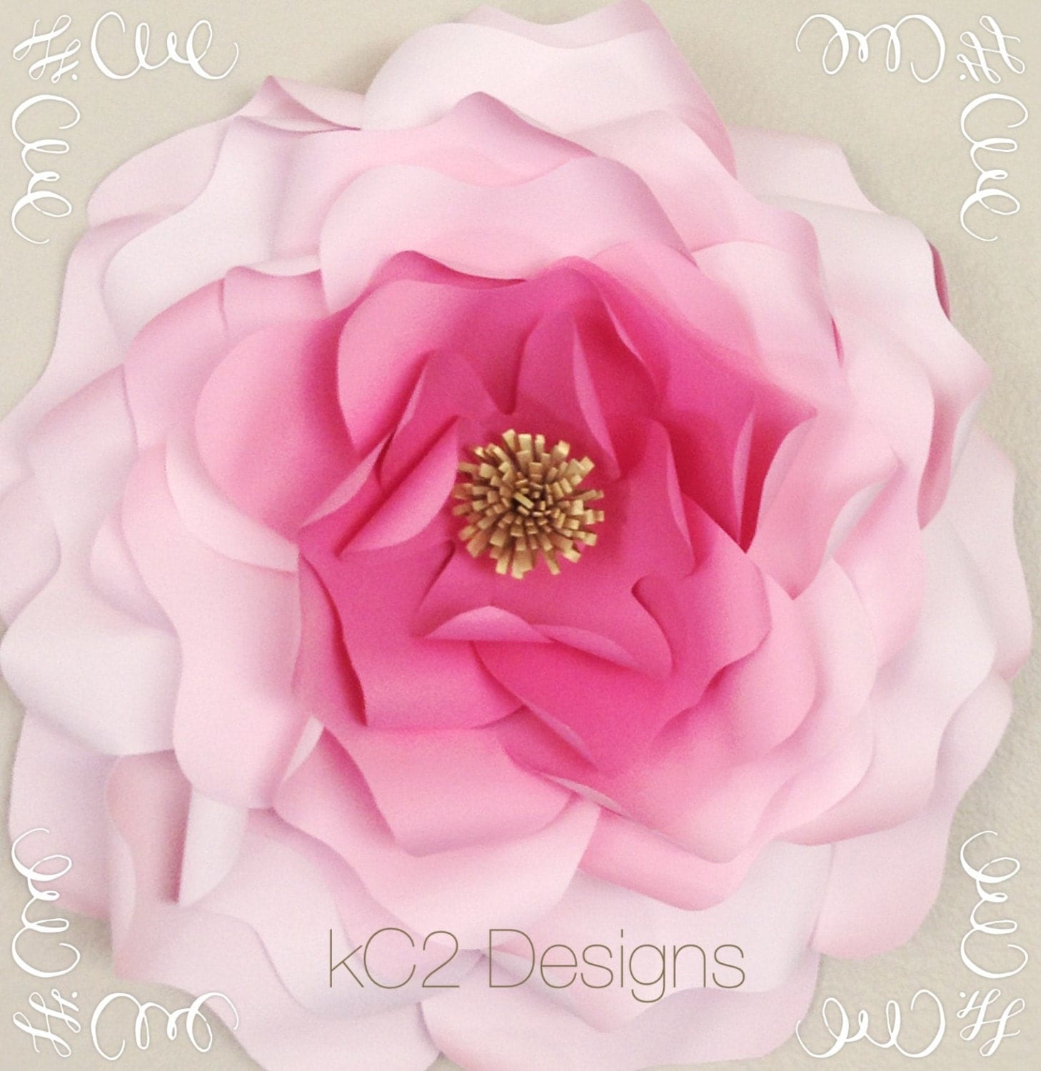 Giant paper flower. jumbo paper flowers. paper flowers. YOUR