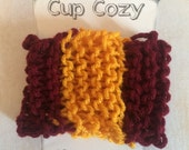 Cup Cozy- Harry Potter Gryffindor Inspired