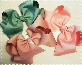 Large hair bows-made to match Matilda Jane-Once upon a time-7 inch hair bow-large hair bow-little girl's hair bow- xlarge hair bow-jumbo-
