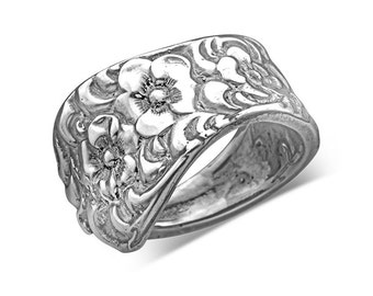 "Spoon Ring: ""Charlotte"" by Silver Spoon Jewelry"