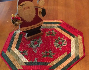 Christmas Octagon Table Topper
