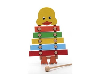 Xylophone, wooden toys, toddler gift, wooden animal, gift for kids, learning toy, educational toy, kids toy, eco friendly toy, wood toy