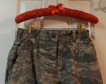Camouflage Fatigue Military Air Force Pants Size 10 Slim