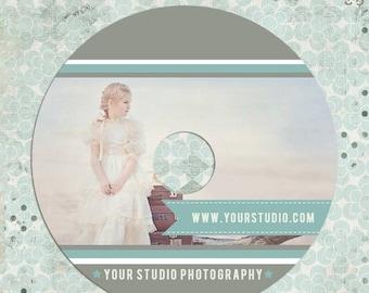 ON SALE cd/dvd label photoshop templates - cd/dvd Label - INSTANT Download