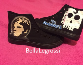 Hand Painted Ponyboy Sneakers