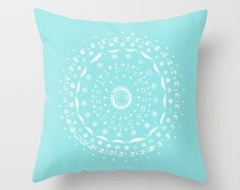 Light blue cushion Etsy