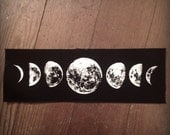 Moon phase large patch