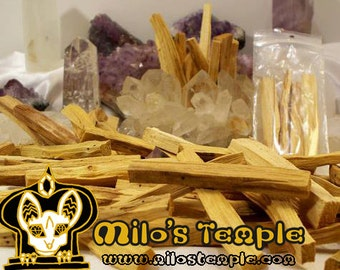 Palo Santo sticks, sustainably sourced from Ecuador, 10cm, approx 5g