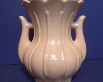 Pink Rumrill Pottery Flower Vase