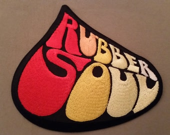 the beatles rubber soul embroidered patch