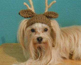 Dog reindeer hat Etsy