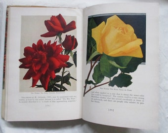 Roses of the World in Color, JH McFarland, 1947, Great Color Photos, Original Dust Jacket